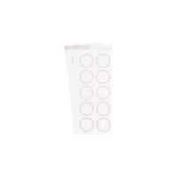 Studio Calico - Color Theory - Circle Label Sticker - Pink Lemonade