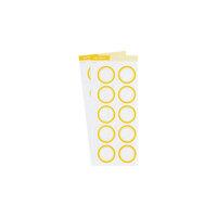 Studio Calico - Color Theory - Circle Label Sticker - Lemon Zest