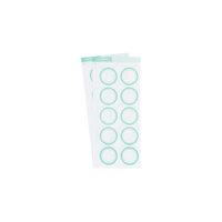 Studio Calico - Color Theory - Circle Label Sticker - Mojito