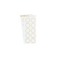 Studio Calico - Color Theory - Circle Label Sticker - Creme Brulee