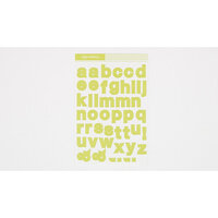 Studio Calico - Color Theory - 4 x 6 Alpha Stickers - Lime Light
