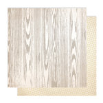Studio Calico - Classic Calico Collection - 12 x 12 Double Sided Paper - Woodgrain One