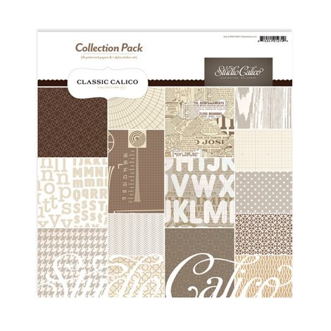 Studio Calico - Classic Calico Collection - 12 x 12 Collection Pack