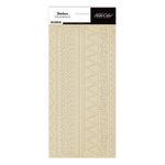 Studio Calico - Memoir Collection - Cardstock Stickers - Border - Kraft