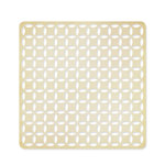 American Crafts - Studio Calico - Classic Calico Collection - 12 x 12 Die Cut Paper - Intertwined Circle - Tan