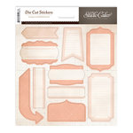 Studio Calico - Autumn Press Collection - Cardstock Stickers - Labels - Pink