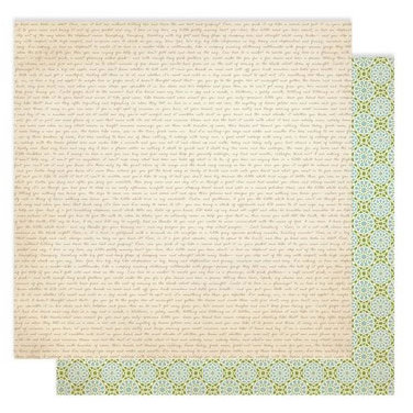 Studio Calico - Memoir Collection - 12 x 12 Double Sided Paper - Love Bird