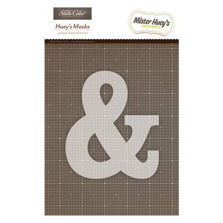 Studio Calico - Mister Huey's Color Mist - Stencils Mask Set - Ampersand