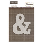 Studio Calico - Mister Huey's Color Mist - Stencils Mask Set - Ampersand
