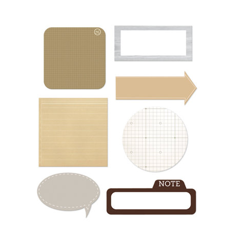 Studio Calico - Classic Calico Collection - Self Adhesive Scrap Pads