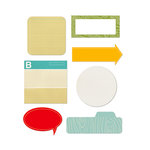 Studio Calico - Memoir Collection - Self Adhesive Scrap Pads