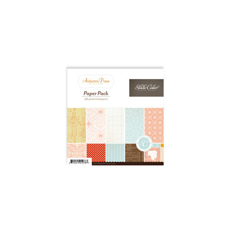 Studio Calico - Autumn Press Collection - 6 x 6 Paper Pad