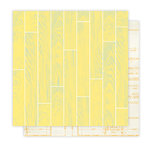 Studio Calico - Home Front Collection - 12 x 12 Double Sided Paper - Floor Plan, CLEARANCE