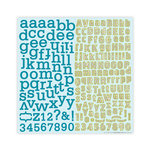 Studio Calico - Anthology Collection - 12 x 12 Cardstock Stickers - Alphabet, CLEARANCE
