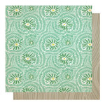 Studio Calico - Countryside Collection - 12 x 12 Double Sided Paper - County Line
