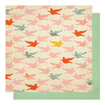 Studio Calico - Countryside Collection - 12 x 12 Double Sided Paper - Barn Swallow