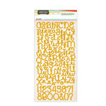 Studio Calico - Countryside Collection - Cardstock Stickers - Alphabet - Yellow