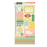 American Crafts - Studio Calico - Countryside Collection - Cardstock Stickers - Labels