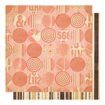 Studio Calico - State Fair Collection - 12 x 12 Double Sided Paper - Cotton Candy