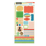 Studio Calico - State Fair Collection - Cardstock Stickers - Labels