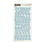 American Crafts - Studio Calico - State Fair Collection - Chipboard Stickers - Alphabet