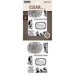 Hero Arts - Studio Calico - Memoir Collection - Poly Clear - Clear Acrylic Stamps - Home Sweet Home