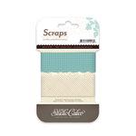 Studio Calico - Memoir Collection - Tissue Paper Trim - Scraps