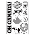 Scrapbook and Cards Today - Celebrate Canada - Stamps