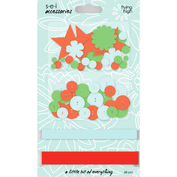 SEI - Corrine Collection - Embellishment Accessories Pack - Flying High