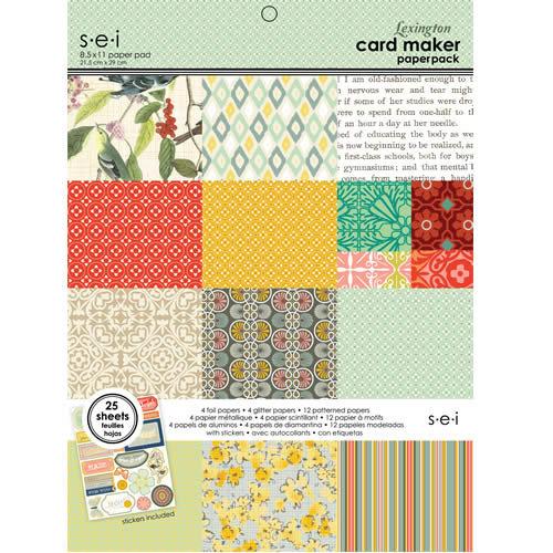 SEI - 8.5 x 11 Card Maker Paper Pack - Lexington