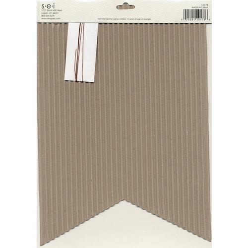 SEI - Cardboard Pennant Kit