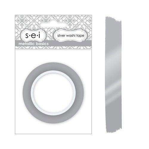 SEI - Metallic Basics - Washi Tape - Silver