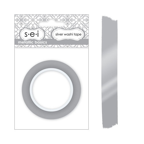 SEI - Metallic Basics - Washi Tape - Silver