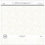 SEI - White Elegance Collection - 12 x 12 Paper Pad