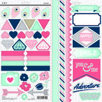 SEI - Forever Sassy Collection - Cardstock Stickers with Foil Accents
