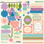 SEI - Wishes for You Collection - Cardstock Stickers