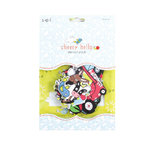 SEI - Cheery Hello Collection - Die Cut Accents