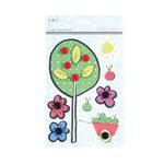 SEI - Cheery Hello Collection - 3 Dimensional Stickers
