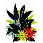 SEI - Black Orchid Collection - Die-Cut Shapes