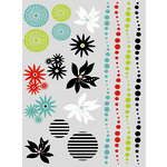 SEI - Black Orchid Collection - Rub-On Designs