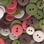 SEI Buttons - Aunt Gerti's Garden, CLEARANCE