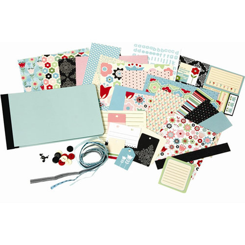 Sei Penelopes Winter Collection 4x6 Scrapbook In A Bag