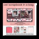SEI  - Scrapbook in a Bag - 6 x 6 - Sweetie