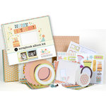 SEI - Scrapbook in a Box Kit - 8 x 8 - Happy Day, CLEARANCE