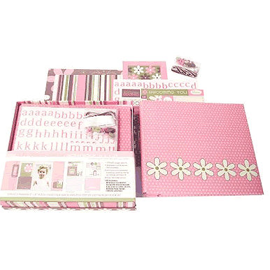 SEI - Scrapbook in a Box - Aunt Gerti's Garden