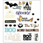 SEI - Halloween Hoopla - Rub Ons, CLEARANCE