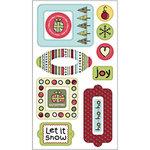 SEI - Doodley-Doo Holiday - Foxy Epoxy Sticker, CLEARANCE