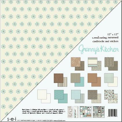 SEI Simple Sets Paper Assortments - Granny's Kitchen
