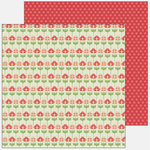 SEI - Patterned Double Sided Paper - Winnie's Walls - Playful Pansies, CLEARANCE