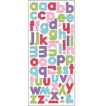 SEI - Doodley-Doo Girl - Alphabet Stickers